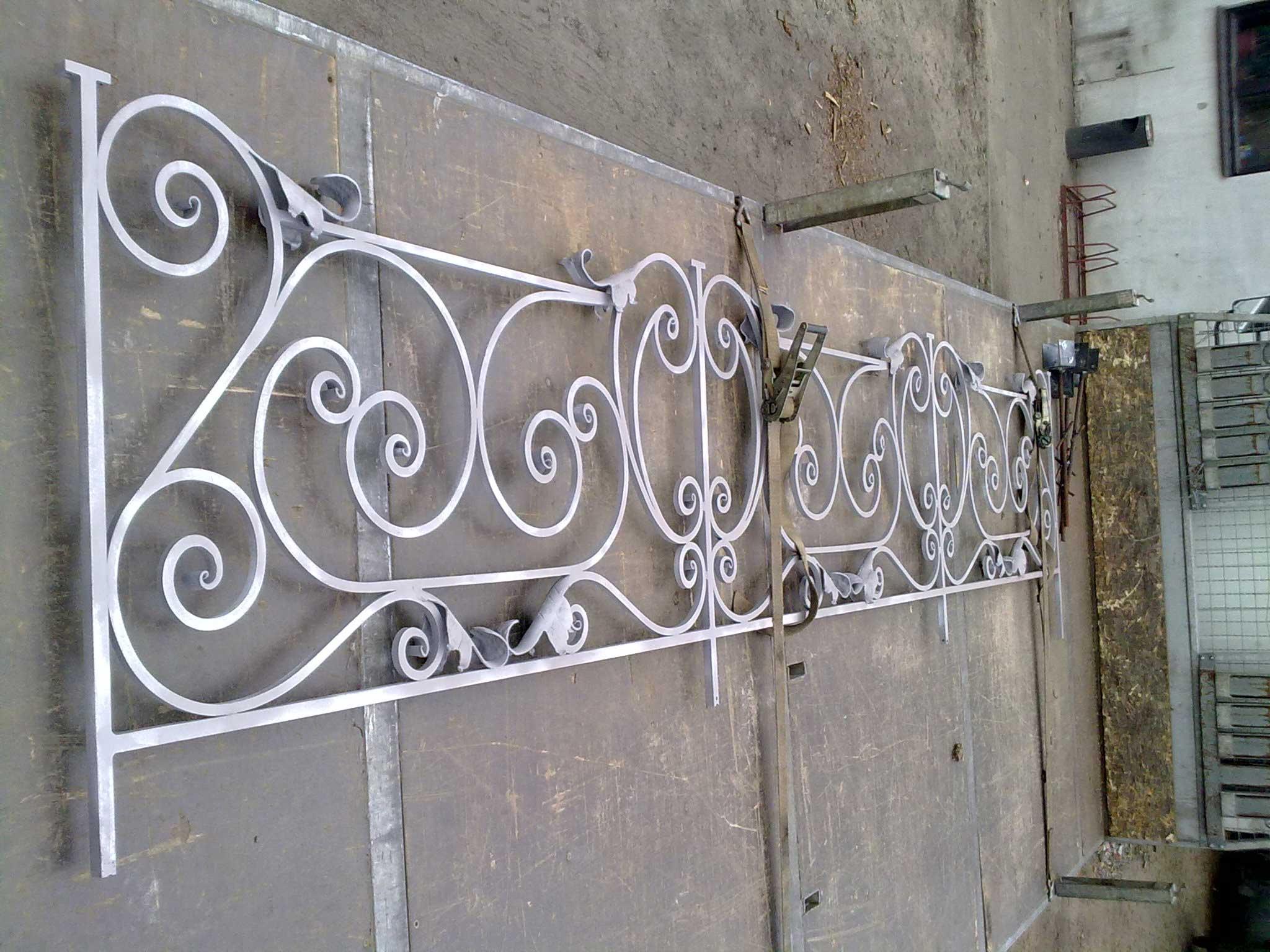 W Mega Balustrady balkonowe, francuskie, schodowe ZM07
